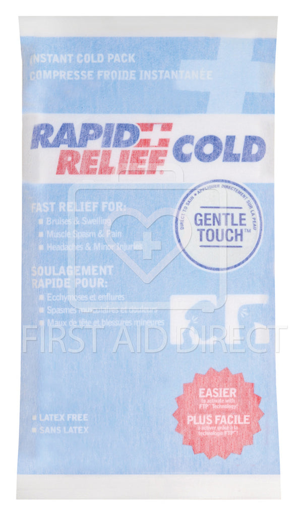 COLD PACK, GENTLE-TOUCH, INSTANT COLD, LARGE, 15.2 x 22.9 cm