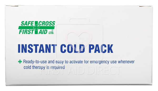 COLD PACK, INSTANT, SMALL, 10.2 x 15.2 cm, 1's