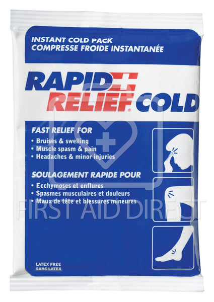 COLD PACK, INSTANT COLD, SMALL, 10.2 x 15.2 cm