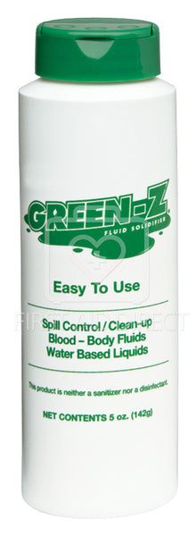 GREEN Z, SPILL CONTROL SOLIDIFIER, 142 g