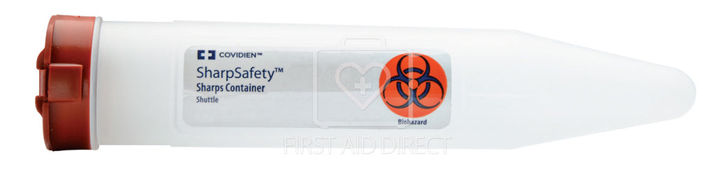 SHARPS/BIOHAZARD, SHUTTLE CONTAINER WITH LOCK
