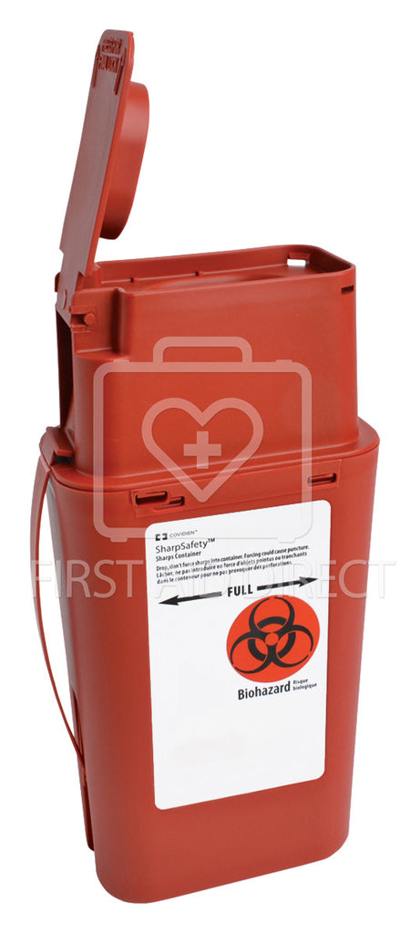 SHARPS/BIOHAZARD, TRANSPORT CONTAINER, 946 mL