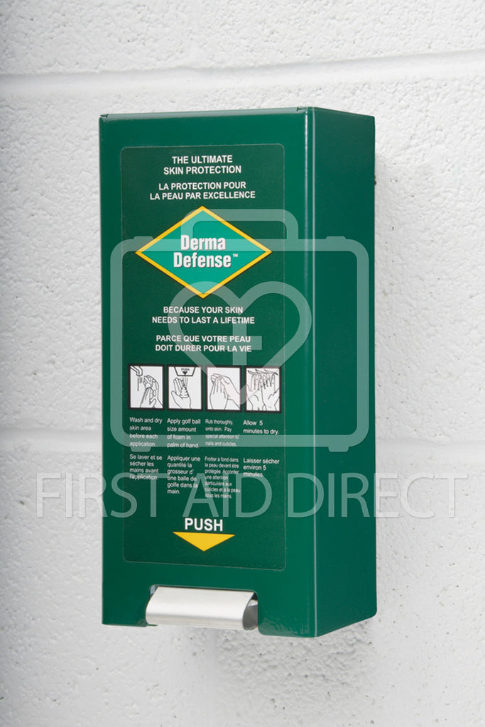 DERMA DEFENSE WALL DISPENSER FOR ITEM 14596