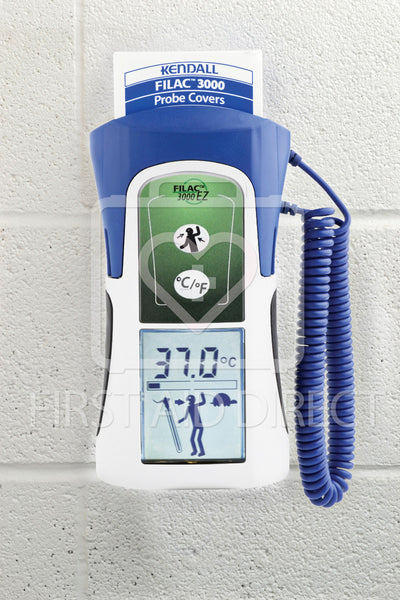 THERMOMETER, ELECTRONIC, ORAL/AXILLARY, FILAC 3000 w/20 PROBE COVERS