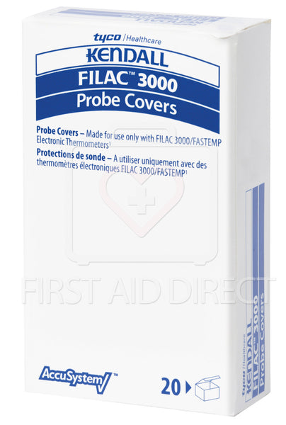 THERMOMETER PROBE COVERS FOR FILAC 3000 ITEM 14650, 20's