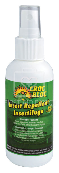 CROC BLOC, INSECT REPELLENT, 9.8% DEET, 120 mL, SPRAY PUMP