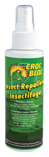 CROC BLOC, INSECT REPELLENT, 30% DEET, 120 mL, SPRAY PUMP
