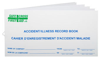 ACCIDENT/ILLNESS RECORD BOOK, LARGE