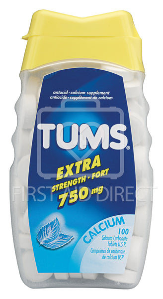 TUMS, ANTACID TABLETS, EXTRA-STRENGTH, 100's