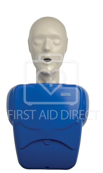 CPR PROMPT, TRAINING MANIKIN, ADULT/CHILD, w/10 FACE SHIELD/LUNG BAGS