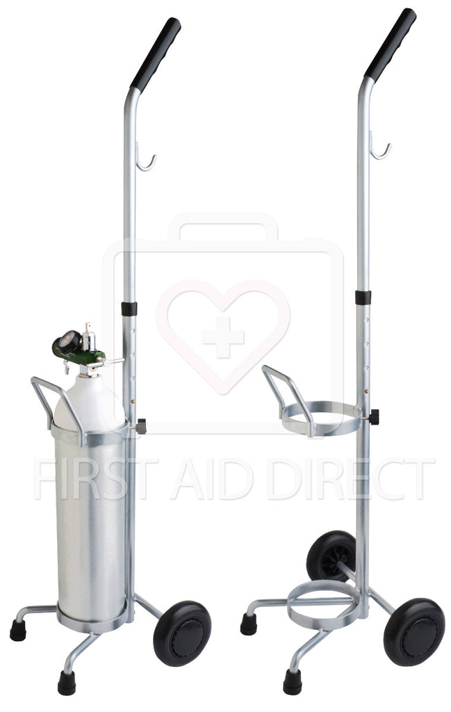 "OXYGEN TRANSPORT CART FOR ""D"" CYLINDER ITEM 17391 OR 17403"