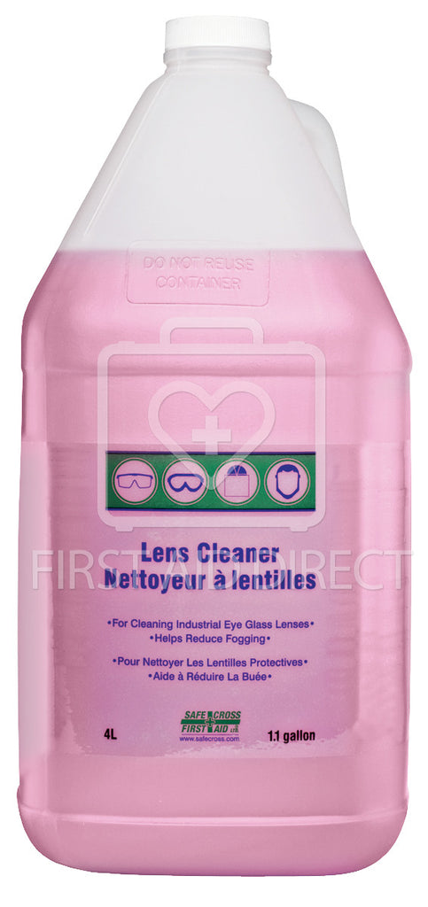LENS CLEANING SOLUTION, 4 L