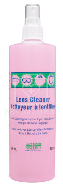 LENS CLEANING SOLUTION, 500 mL (CYLINDER), SPRAY PUMP