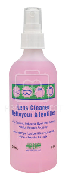 LENS CLEANING SOLUTION, 250 mL, SPRAY PUMP