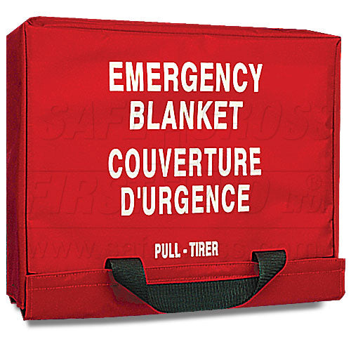 BLANKET STORAGE BAG, HOLDS 2 BLANKETS