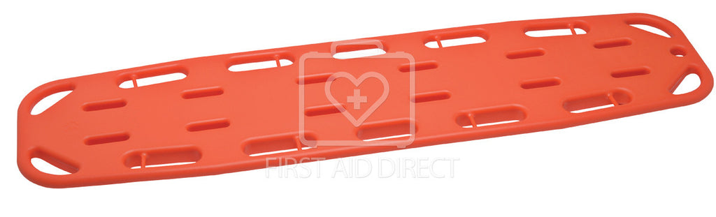 "BACKBOARD, PLASTIC w/PINS, PEDIATRIC, 28 cm x 1.22 m (11"" x 48"")"