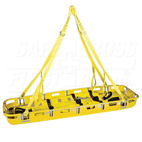 BASKET LITTER STRETCHER w/BED INSERT, STRAPS & LIFTING BRIDLE