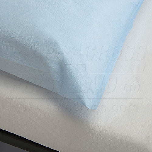 PILLOW CASES, TISSUE/POLY, 53.3 x 73.7 cm, 25's