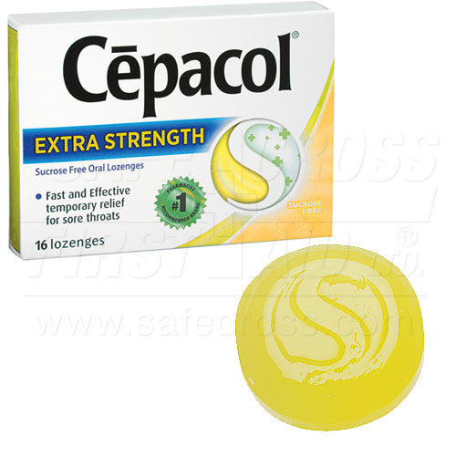 CEPACOL, SORE THROAT LOZENGES, 576's