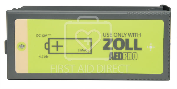 AED, ZOLL, AED PRO, BATTERY