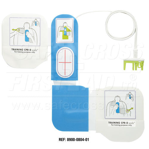 AED, ZOLL, TRAINER ELECTRODES, ADULT, CPR-D-padz, w/CPR FEEDBACK