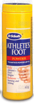 FOOT POWDER ATHLETES FOOT SCHOLL 63g