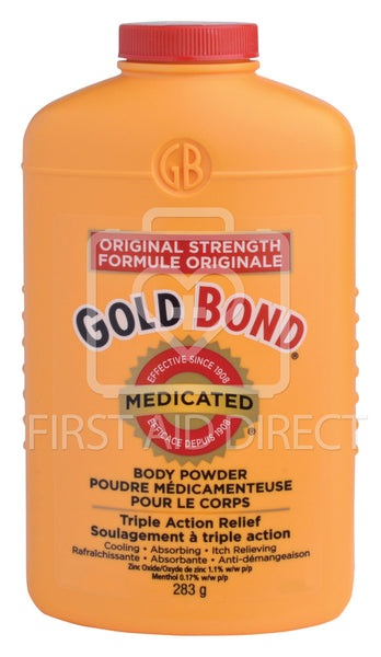 GOLD BOND, MEDICATED BODY POWDER, 283 g