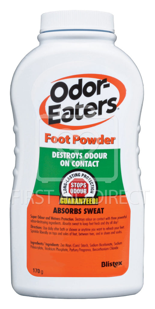 ODOR-EATERS, FOOT POWDER, 170 g