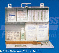 Prince Edward Island Regulation First Aid Kit - No. 3, 16-100 Employees - Unitized - #2 Metal with Square Corners