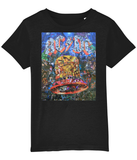 AC/DC Hells Bells Collage Kids T-Shirt