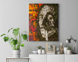 Bob Marley Collage Canvas Print - multymedia