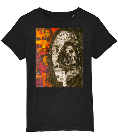 Bob Marley Collage Kids T-Shirt
