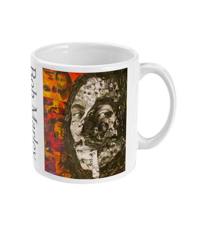 Bob Marley Collage Mug - multymedia
