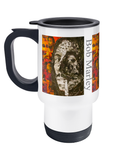 Bob Marley Collage Travel Mug 14oz - multymedia