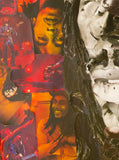 Bob Marley Collage Poster - multymedia