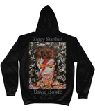 David Bowie Collage Hoodie - multymedia