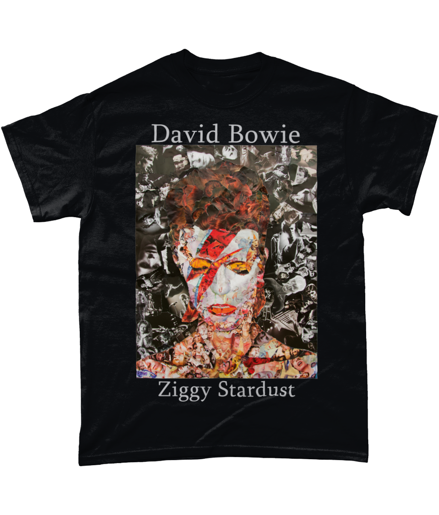 David Bowie Short-Sleeve T-Shirt - multymedia