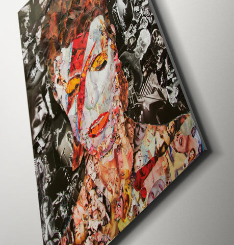 David Bowie Canvas Print - multymedia