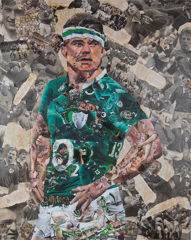 Brian O'Driscoll  Collage - multymedia