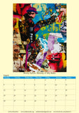 Collages by John Kerr A3 Calendar 2019 - multymedia