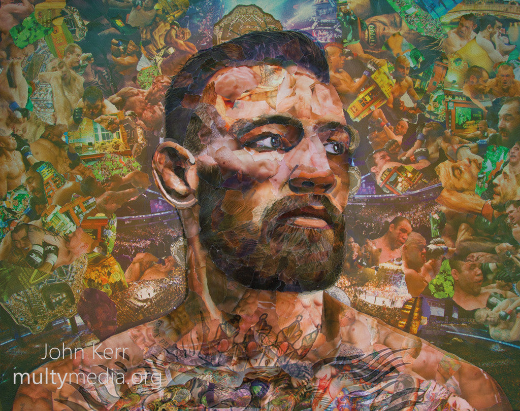 Conor McGregor Collage - multymedia