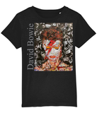 David Bowie Collage Kids T-Shirt