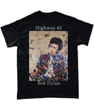 Bob Dylan Short-Sleeve T-Shirt - multymedia