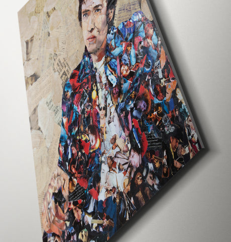 Bob Dylan Canvas Print - multymedia