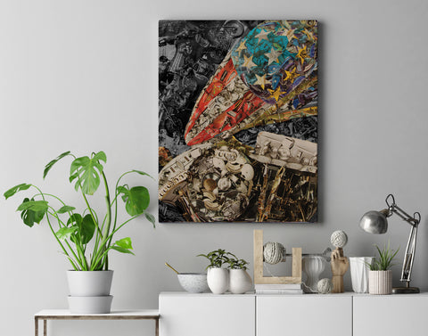 Easy Rider Canvas Print - multymedia