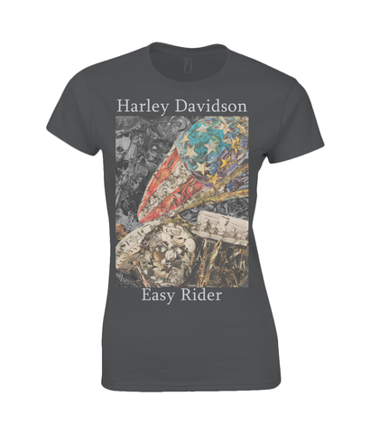 Easy Riders Collage Womens T Shirt