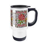 England Rugby Travel Mug 14oz - multymedia