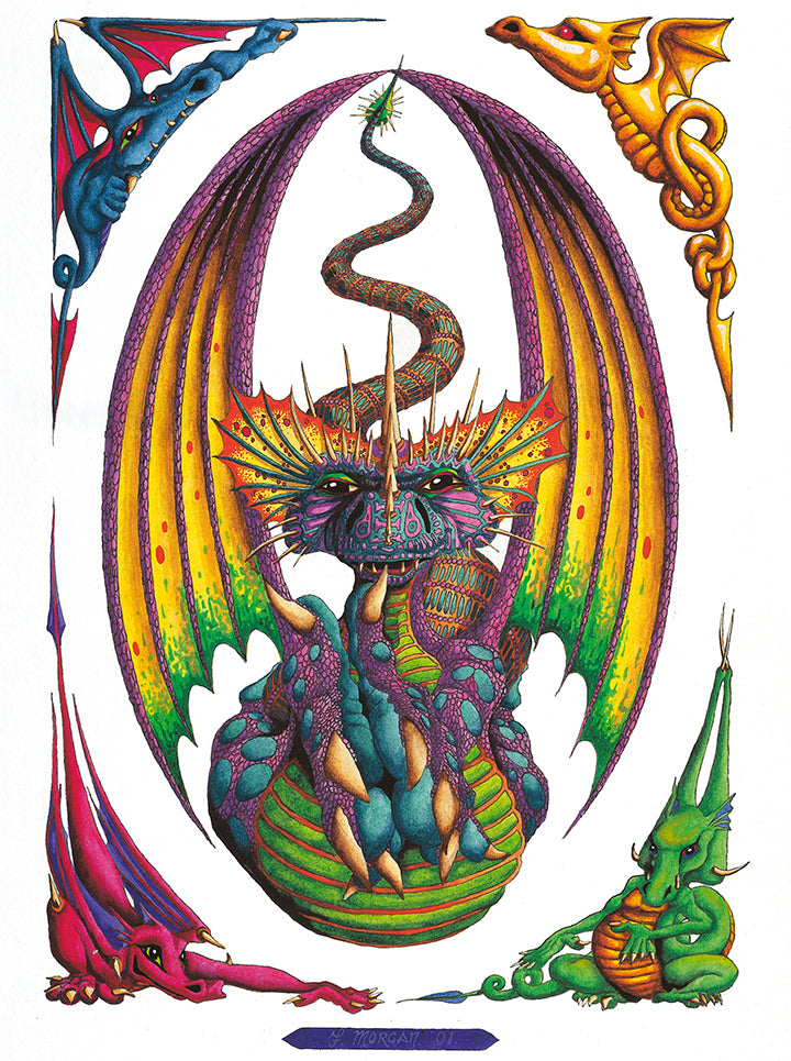 Dragon Egg Giclee Print by Francis Morgan - multymedia