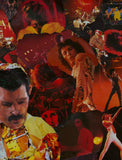 Freddie Mercury of Queen Collage /  Art - multymedia