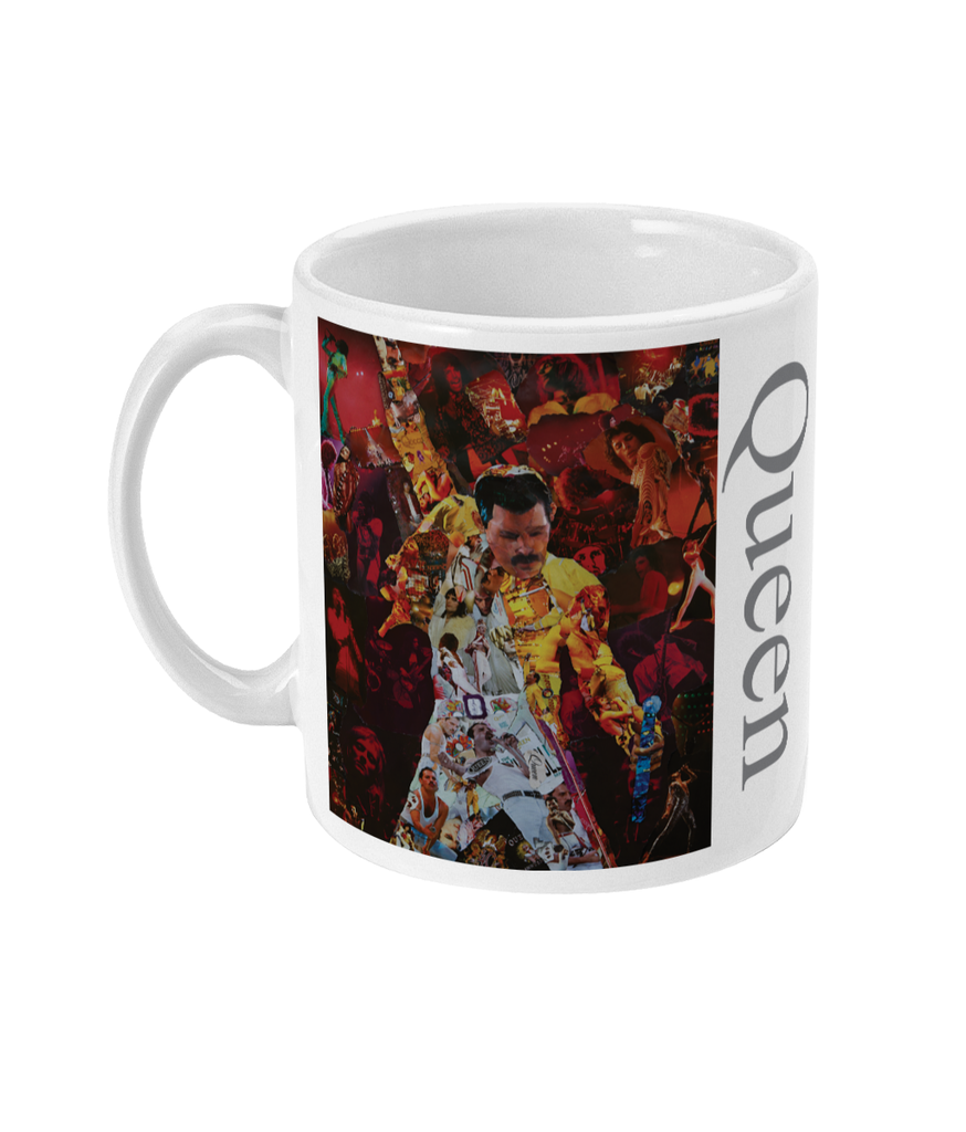 Freddie Mercury of Queen Mug - multymedia